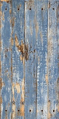 Rust Wood Blue